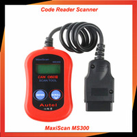 Lastest version professional MS300 MaxiScan ms 300 obd2 scan...