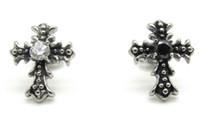 Wholesale Women s Fashion Cross Earrings Ear Studs Fancy Design L Stainless Steel Ear Pin Jewellery