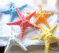 Wholesale Decoration resin starfish Sea star Home detailed ornamental pieces Lovely and sweet resin ornaments Window decoration