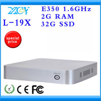 Wholesale Factory price hot selling desktop computer network mini pc dual core Mini PC XCY L X gb ssd smaller space energy