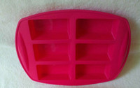 Wholesale Silicone molds for cakes holes rectangle shape baking tools soap molds
