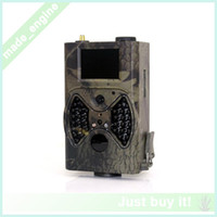 Wholesale Hot GSM Surveillance Video HC300M MMS Hunting Camera Real MP Color CMOS PIR Sensor Outdoor Motion Detection Hunting Camera