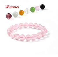 Wholesale 100Pcs MM Loose Beads Crystal DIY Bracelet Beads
