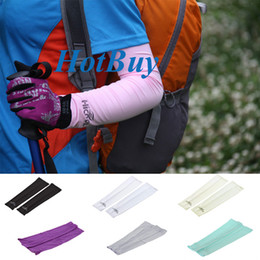 Cooling Athletic Sport Skins Arm Sleeves Sun Protective UV Cover Golf 50Pairs #2582