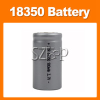 Wholesale 18350 Battery High performance Li ion Rechargeable Battery for K100 Electronic Cigarette VAMO V3 Body Other Electronics products