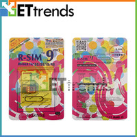 Wholesale R SIM RSIM9 R SIM9 Pro Perfect SIM Card Unlock Official IOS for iPhone S S C CA0026