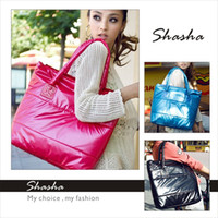 Wholesale Fashion winter designer women channel handbags nylon mk handbag womens shoulder bag new items for woman large nylon shopping bag