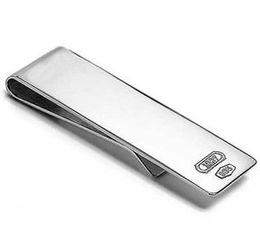 925 silver silver plating fashion portable money clip unisex 5pcs lot free shipping