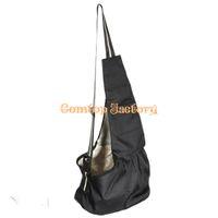 Wholesale Fedex Lowest Price Black Oxford Cloth Sling Pet Dog Cat Carrier Tote Single Shoulder Bag