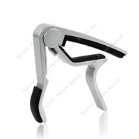 aluminium alloy  guitar capo - New Aluminum Metal Trigger Guitar Capo Clamp For Acoustic Electric Guitar Silver