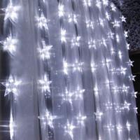 Wholesale LED String Light Pentagram String Light Christmas Tree Festival Decoration Light m