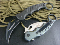 Wholesale OEM Fox claw karambit G10 handle folding knife outdoor gear pocket knife hunting knife
