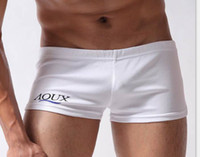 Wholesale Aqux male panties sports super shorts lounge pants aro pants pajama pants at home men s comfortable elastic