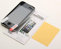 Wholesale HD Clear LCD Screen Protector Cover Guard Flim For Iphone G S C G S Screen protector with retail package by dhl