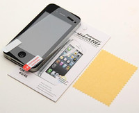 Wholesale cheapest HD Clear LCD Screen Protector Cover Guard Flim For Iphone G S C G S Screen protector with retail package