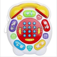 Baby Boys Learning Machine Early learning toy music phone parent-child baby toy 1 story telling