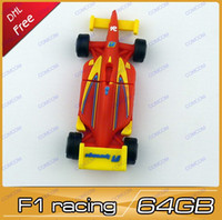 Wholesale F1 racing car gb usb flash drives pen drive thumb drive usb key usb stick AU039 pc