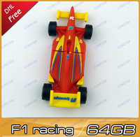 Wholesale F1 racing car gb usb flash drives pen drive thumb drive usb key usb stick AH052 pc