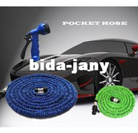 Wholesale HOT FT Expandable amp Flexible Water Garden Hose flexable hose Pocket hose