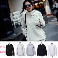 Wholesale Free Size New Autumn Hoodies Sweatshirt Women Sport Fashion Pullover Fleece Winter Warm shirts