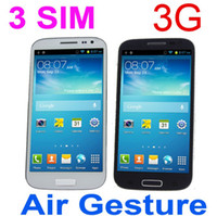 Wholesale HTM H9503 S4 With Air Gesture Inch MTK6572 Dual Core Android G WCDMA Smartphone Wifi Three SIM GPS GB M RAM MP Camera I9500