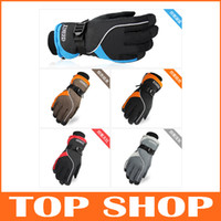 Wholesale Outdoor Ski Waterproof Gloves Hiking Walking Climbing Hunting Snowsport Wind resistant Gloves