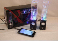 2.1 Universal dancing water  Dancing Water Speaker Portable Speakers Colorful LED Lighting Music Fountain for Samsung iPhone iPad iPod Laptop Computer mp3 mp4 Player