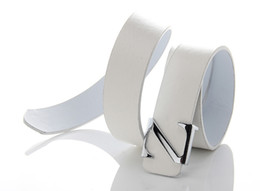 Wholesale Hot New Men s PU leather belt quality letter Z belt Z letter belts Fashion pure color men s belt colors