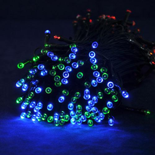 200leds,Rgb Led String Decoration Christmas Tree Light Bulb With Solar Panel,For Ktv,Music Hall ...