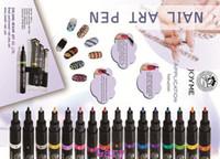 Wholesale New Product Pro Nail Art Paint Drawing Pen Nail Tools Great