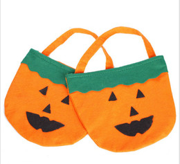 Wholesale Halloween Halloween costume party game shows supplies pumpkin barrel pumpkin bag pumpkin handbag