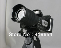 Wholesale HD Digital DV Mini Camcorder Video Camera HD9100 x Telephoto Lens Wide angle Lens LCD MP