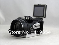 Wholesale DHL HD Digital DV Camcorder Video Camera HD9100 x Telephoto Lens Wide angle Lens LCD MP