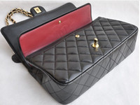 Wholesale 2013 new Shoulder Messenger casual fashion brand bag Quilted chain bag handbag genuine sheepskin bags tide bag