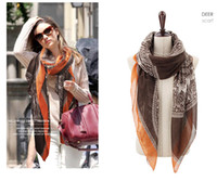 Wholesale 2013 style deer headbands for women s scarf cotton autumn Long Scarf Fashion Shawls
