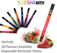 Electronic Cigarette Set Series  New Disposable E-shisha Pens Electronic Cigarette e-hookah portable e-shisha pen 500puffs 20pcs