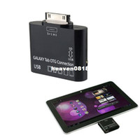 Wholesale New Arrival Hot in USB OTG Connection TF SD Card Reader Kit Adapter for Samsung Galaxy Tab amp