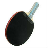 Wholesale DHS DOUBLE HAPPINESS SPORTS TABLE TENNIS RACKET PING PONG PADDLE STARS LONG HANDLE