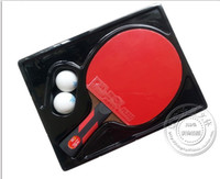 Wholesale official original double fish A E STARS shake hands grip finished product Table Tennis Rackets