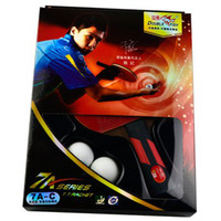 Wholesale official original double fish A C STARS shake hands grip finished product Table Tennis Rackets