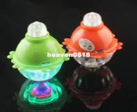 Wholesale Flash LED Light Gyroscope Gyro Spinning Top Toy Gift amp