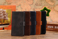 Leather For Samsung For Christmas Flip Leather Wallet Case with Card Holder for Samsung Galaxy Note3 Note 3 III N9000 N9005