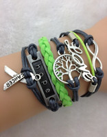 Cheap Fashion tree of life bracelet Best Jewelry Findings Copper ribbon bracelet