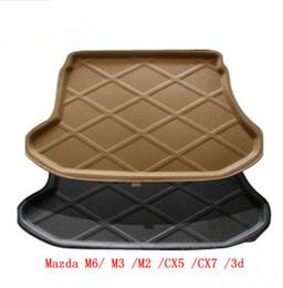 Free Shipping Hot Mazda M6/ M3 /M2 /CX5 /CX7 /3d three-dimensional trunk mat trunk mat