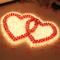 Wholesale Smoke romantic courtship aluminum candle birthday candle Package confession wsd23