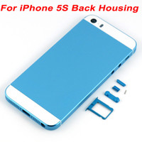 Back Housing Replacement Cover For Apple iPhone 5S Metal Mid...