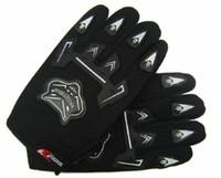 Wholesale NEW motocross Bike Bmx atv Gloves Full Finger Youth Gloves Black Red Blue