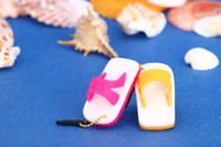 Wholesale Beach slippers stylish dust plug for mm Headset dust plug for iphone Samsung HTC