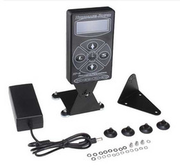 Wholesale Hurricane Tattoo Power Supply HP Digital LCD Display Black Color Foot Pedal Clip Cord piece