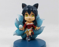 Resin resin figure - League of Legends LOL Nine Tailed Fox Q version Resin action figure